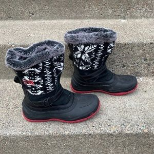 Women's North Face Winter Snow Boots 9